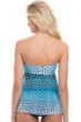 Profile by Gottex Cocoon Bandeau Flyaway Tankini Top