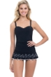 Profile by Gottex Enchantment Black D-Cup One Piece Swimdress