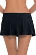 Profile by Gottex Tutti Frutti Black Cinch Skirt Swim Bottom
