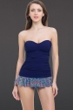 Profile by Gottex Marimba One Piece Bandeau Swimdress