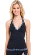 Profile by Gottex Blue Nile Halter Tankini Top