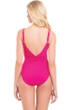 Profile by Gottex Waterfall Rose D-Cup One Piece Swimsuit