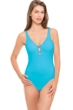 Profile by Gottex Java V-Neck Macrame Back One Piece Swimsuit