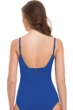 Profile by Gottex Tutti Frutti Cocktail Royal Blue V-Neck Tankini Top
