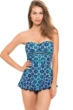 Profile by Gottex Collage Bandeau Swimdress