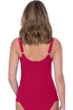 Profile by Gottex Moto Ruby D-Cup V-Neck Tankini Top