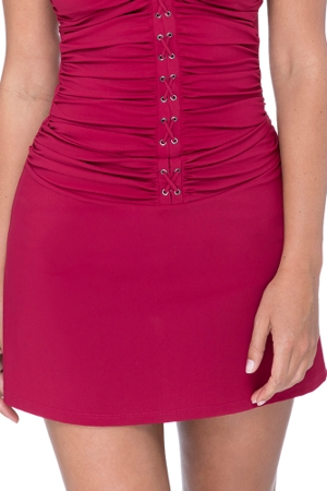 Profile by Gottex Moto Ruby Cover Up Skirt
