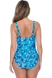 Profile by Gottex Birds of a Feather D-Cup Scoop Neck Underwire One Piece Swimsuit
