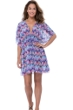 Profile by Gottex Fantasia V-Neck Mesh Tunic Cover Up