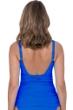 Profile by Gottex Tutti Frutti Sapphire Shirred Tankini Top