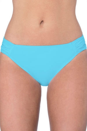 Profile by Gottex Tutti Frutti Aqua Side Tab Hipster Bikini Bottom