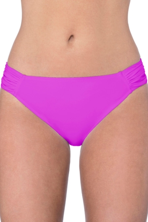 Profile by Gottex Tutti Frutti Warm Viola Side Tab Hipster Bikini Bottom