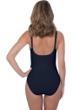 Profile by Gottex Tutti Frutti Black Peasant Shirred One Piece Swimsuit
