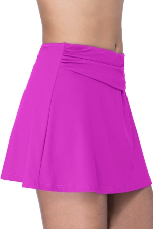 Profile by Gottex Tutti Frutti Warm Viola Cover Up Skirt