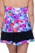 Profile by Gottex Pocket Full of Posies Plus Size Side Slit Cinch Swim Skirt