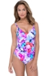 Profile by Gottex Pocket Full of Posies V-Neck One Piece Swimsuit
