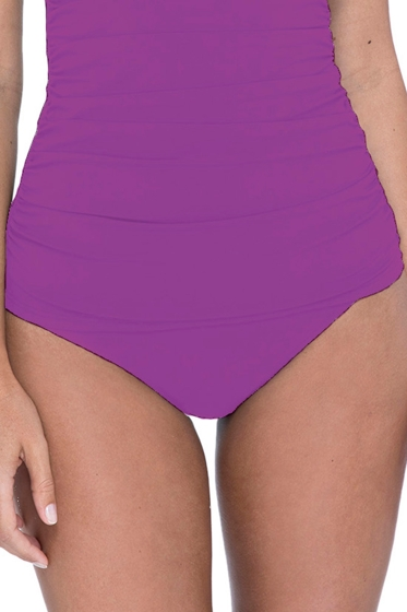 Profile by Gottex Love'n Lace Plum Hipster Tankini Bottom