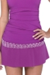 Profile by Gottex Love'n Lace Plum Swim Skirt