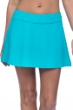 Profile by Gottex Ribbons Turquoise Textured Cover Up Skirt