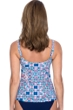 Profile by Gottex Tangier Scoop Neck Shirred Tankini Top