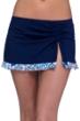 Profile by Gottex Tangier Side Slit Cinch Swim Skirt