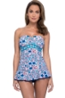 Profile by Gottex Tangier Bandeau Strapless Shirred Swimdress
