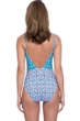 Profile by Gottex Tangier V-Neck One Piece Swimsuit