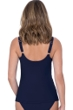 Profile by Gottex Moto Navy D-Cup V-Neck Tankini Top