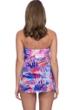 Profile by Gottex Sanibel Twist Front Bandeau Strapless Flyaway One Piece Swimsuit