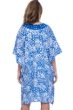 Profile by Gottex Diamond Batik V-Neck Tunic Cover Up One Size Fits All