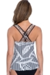Profile by Gottex Bamboo D-Cup Scoop Neck Strappy Underwire Tankini Top