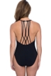 Profile by Gottex Bamboo V-Neck One Piece Swimsuit
