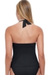 Profile by Gottex Tutti Frutti Black Halter Underwire Tankini Top