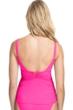 Profile by Gottex Tutti Frutti Pink Scoop Neck Shirred Tankini Top