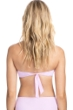 Profile by Gottex Tutti Frutti Pale Pink Bandeau Strapless Twist Front Bikini Top