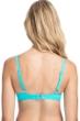 Profile by Gottex Tutti Frutti Light Jade C-Cup Tie Front Push Up Underwire Bikini Top