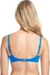 Profile by Gottex Tutti Frutti Blue D-Cup Push Up Underwire Bikini Top