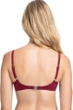 Profile by Gottex Tutti Frutti Merlot D-Cup Push Up Underwire Bikini Top
