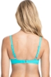 Profile by Gottex Tutti Frutti Light Jade D-Cup Tie Front Push Up Underwire Bikini Top