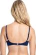 Profile by Gottex Tutti Frutti Navy E-Cup Push Up Underwire Bikini Top