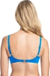 Profile by Gottex Tutti Frutti Blue E-Cup Push Up Underwire Bikini Top