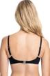 Profile by Gottex Tutti Frutti Black F-Cup Push Up Underwire Bikini Top