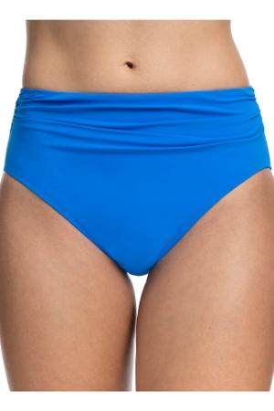 Profile by Gottex Tutti Frutti Blue Shirred Tankini Bottom