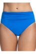 Profile by Gottex Tutti Frutti Blue Shirred Tankini Bottom