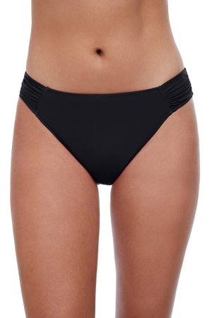 Profile by Gottex Tutti Frutti Black Side Tab Hipster Bikini Bottom