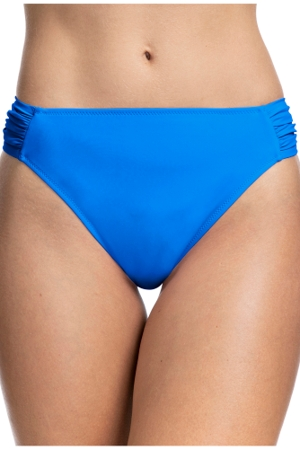Profile by Gottex Tutti Frutti Blue Side Tab Hipster Bikini Bottom