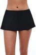 Profile by Gottex Tutti Frutti Black Swim Skirt