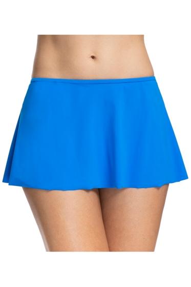 Profile by Gottex Tutti Frutti Blue Swim Skirt