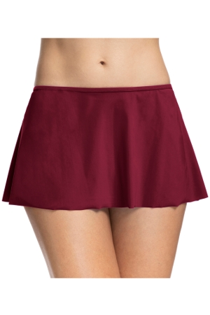 Profile by Gottex Tutti Frutti Merlot Swim Skirt