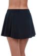 Profile by Gottex Tutti Frutti Black Ruffle Flyaway Swim Skirt